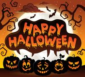 Happy Halloween topic image 8 Stock Images