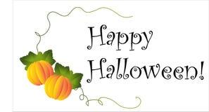 Happy halloween type Royalty Free Stock Photo