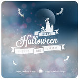 Happy Halloween Typography Stock Photo
