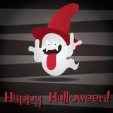 Happy Halloween. Vampire Ghost Happy Halloween card in vector format Stock Photo