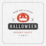 Happy Halloween Vector Background and Pumpkin Stock Photos