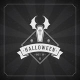 Happy Halloween Vector Background Royalty Free Stock Photography