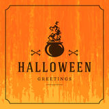 Happy Halloween Vector Background Royalty Free Stock Photo