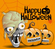 Happy Halloween. Royalty Free Stock Images