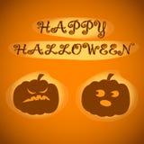 Happy Halloween. Vector illustration for celebration. Poster, postcard, banner, background. Royalty Free Stock Image