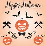 Happy Halloween in vector, invitation. Happy Halloween in vector for invitation stock illustration