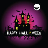 Happy halloween vector part two Stock Images
