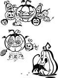 Happy Halloween - vector set. Stock Photo