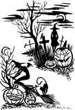 Happy Halloween - vector set. Royalty Free Stock Photo
