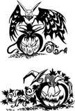 Happy Halloween - vector set. Stock Image