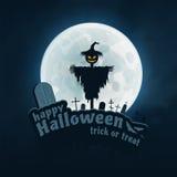 Happy Halloween Vector Sticker Royalty Free Stock Photos