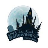Happy Halloween Vector Sticker Stock Images
