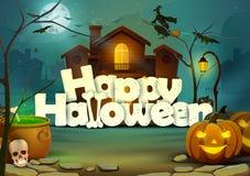 Happy Halloween wallpaper background Royalty Free Stock Photos