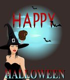 Happy Halloween. Royalty Free Stock Photos