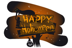 Happy Halloween Stock Photography