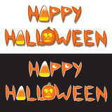 Happy Halloween Words Royalty Free Stock Image