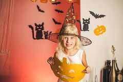 Happy Halloween on the World. Horror faces. Happy halloween. Happy Halloween Quotes for Spooky Fun. Magic hat. Trick or. Treat. Happy Halloween Quotes and royalty free stock photo