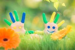Happy hands Stock Photo
