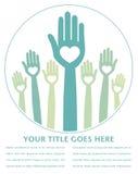 Happy hands design. Royalty Free Stock Photo