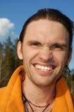 Happy Handsome Man Stock Photo