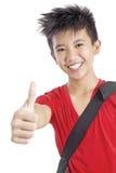 Happy Handsome Student Stock Image