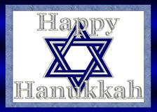 Happy Hanukkah Background Stock Photos