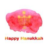 Happy Hanukkah background. Royalty Free Stock Photo
