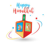 Happy Hanukkah Stock Images