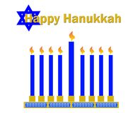 Happy hanukkah clipart Royalty Free Stock Photography