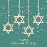 Happy Hanukkah. Creative banner or poster For  jewish holiday Hanukkah Royalty Free Stock Image