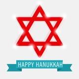 Happy Hanukkah. Creative banner or poster For  jewish holiday Hanukkah Royalty Free Stock Photos