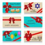 Happy Hanukkah. Creative banner or poster For  jewish holiday Hanukkah Royalty Free Stock Photography