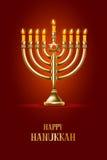 Happy Hanukkah Stock Photography