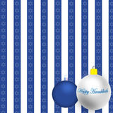 Happy Hanukkah Illustration Royalty Free Stock Photography