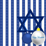 Happy Hanukkah Illustration Stock Images