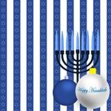 Happy Hanukkah Illustration Royalty Free Stock Photos