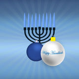 Happy Hanukkah Illustration Stock Photography