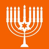 Happy Hanukkah, Jewish Holiday Background. Vector Illustration. Hanukkah is the name of the Jewish holiday. Stock Images
