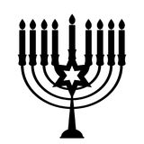Happy Hanukkah, Jewish Holiday Background. Vector Illustration. Hanukkah is the name of the Jewish holiday. Royalty Free Stock Images