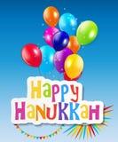 Happy Hanukkah, Jewish Holiday Background. Vector Royalty Free Stock Photo