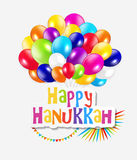 Happy Hanukkah, Jewish Holiday Background. Vector Stock Photography