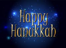 Happy Hanukkah, Jewish Holiday Background. Vector Royalty Free Stock Photos