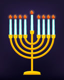 Happy Hanukkah, Jewish holiday. Royalty Free Stock Photos
