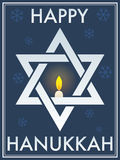 Happy Hanukkah Star Of David Stock Photography