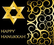 Happy Hanukkah Star of David Stock Image