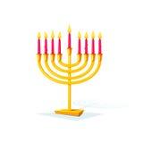 Happy Hanukkah, vector illustration Royalty Free Stock Image