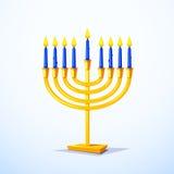 Happy Hanukkah vector illustration Royalty Free Stock Photos