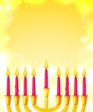 Happy Hanukkah, vector illustration Stock Image