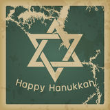 Happy Hanukkah vintage Stock Photography