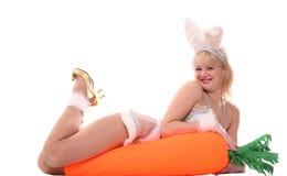 Happy hare Royalty Free Stock Photo